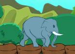 Fais des sauts énormes avec ton éléphant et attrape les bonus lui permettant de voler