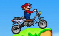 Piloter une motocycle avec Super Mario le plombier moustachu