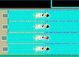 Nager et gagner des courses de natation olympique