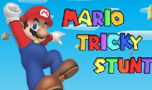 Effectue des cascades aériennes avec Mario