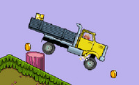 Mario le plombier livre de l'or en camion