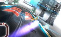 Piloter un vaisseau de course rapide sur circuit 3D