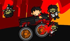 Conduire un camion en pleine guerre nucléaire avec des zombies