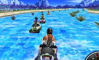 Course de jetskis rapides