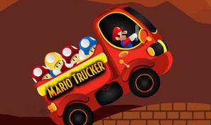 Collecte les champignons colorés avec le camion de Super Mario