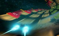 Piloter un vaisseau spatial dans un vortex