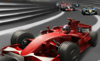 Pilote de mini Formule 1