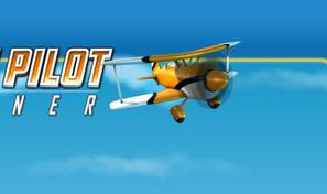 Prends les commandes d'un biplan et réussis des cascades aériennes de franchissement d'anneaux