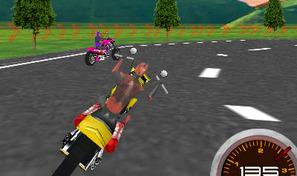 Pilote ta Harley Davidson dans des courses excitantes