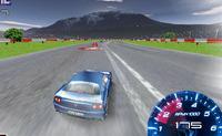 Bolide Ferrari sur circuit de course