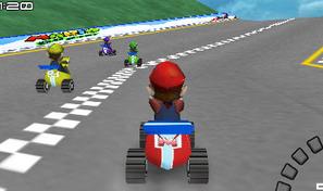 Championnat de karting avec Mario le plombier