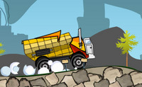 Livrer des marchandises par camion benne