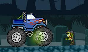 Exploser tous les zombies et morts-vivants en camion