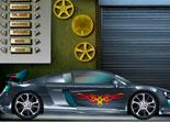 Modifier une Audi R8 pour des clients riches