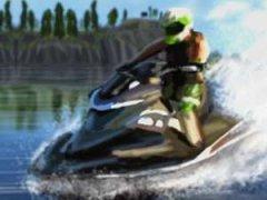 Piloter un jetski et gagner des courses