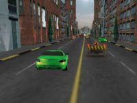 Piloter une voiture en ligne droite