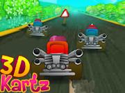 Championnat de kart en 3D