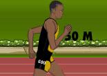Course de sprint de 100m pour la médaille d'or