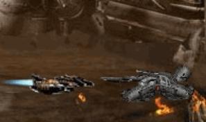 Pilote un vaisseau de combat et utilise ses nombreuses armes contre les engins ennemis