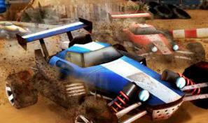 Participe à des courses de buggy sur des pistes techniques