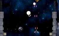 Shoot'em up vertical avec vaisseaux spatiaux de combat