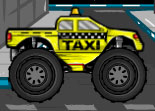 Rouler en taxi Monster Car