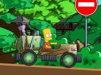 Karting dans le véhicule de Bart