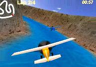 Voler lors d'une course d'avions à hélice