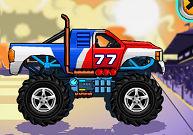 Conduire un camion à gros pneus