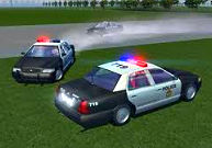 Police Car Drift