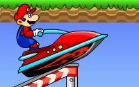 Course de jetski avec Mario