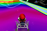 Piloter un caddie avec Mario