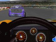 Pilote de Nascar pour course sur circuit