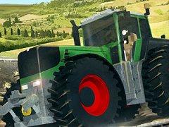 Participe à des courses de tracteurs