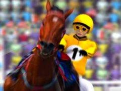 Galoper sur un cheval trotteur