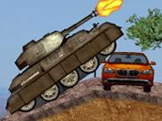 Remorquage d'ogives et de missiles en char d'assaut