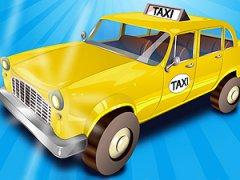 Pilote un taxi jaune dans un village mexicain labyrinthique et amène les clients à destination en utilisant ta mémoire