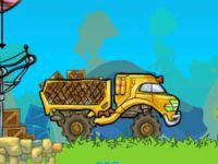 Camion de livraison de zoo